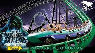 It's a top ten steel coaster to many, but the legendary Phantom's Revenge wasn't always the airtime machine we know today. It was once a true record-breaking ride with four inversions! Watch as I dive into the complete history of Kennywood Park's Phantom's Revenge hyper coaster, from its beginnings as the Steel Phantom.Researched, written, narrated, and edited by Jonathan Baker.LINKS TO FOOTAGE USED IN THIS VIDEO:Phantom's Revenge POV by Kennywood Park:https://www.youtube.com/watch?v=vr85uxvnO80Steel Phantom Off-Ride and POV by Menachem Piekarski:https://www.youtube.com/watch?v=x316w2kmee4&t=308sSteel Phantom's Last Day by Sean Flaharty:https://www.youtube.com/watch?v=ptMqSMXJJOICedar Point Magnum XL-200 POV:https://www.youtube.com/watch?v=3nPG4l9-LkMPhantom's Revenge Off-Ride Footage by Jonathan Baker.