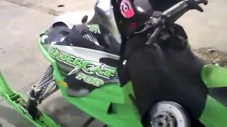 9. LOT 1476A 2004 Arctic Cat Sabercat 700 EFI Tear Down for Parts