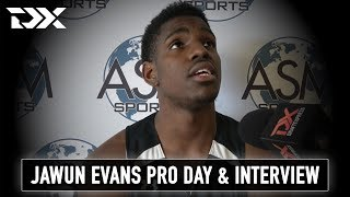 Jawun Evans Pro Day Workout and Interview