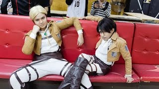 Levi and Erwin : If You Were Gay MGACE 2014 Cosplay Competition