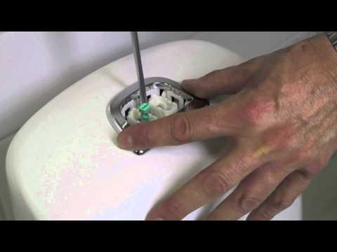 Spolknappsbyte Nautic toalett Gustavsberg