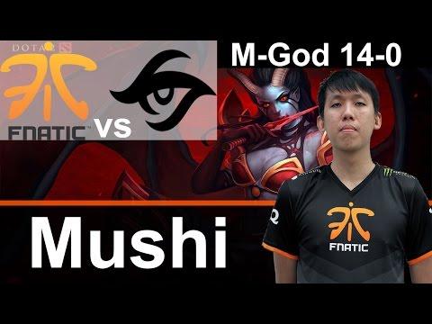Fnatic Mushi plays QoP [14-0 vs Team Secret] Dota 2 [TI5 Group]