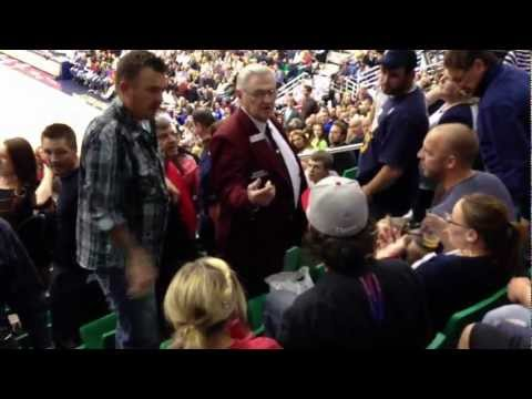 Fans Argue & Fight at a Jazz vs. Clippers Game