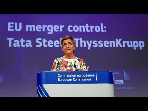 ΕΕ: Σταμάτησε την συγχώνευση Tata – Thyssenkrupp