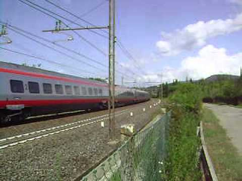 New Pendolino ETR 600 near Florence, Italy #3