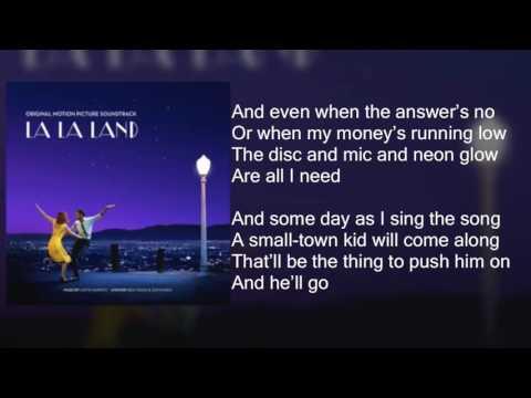 , title : 'La La Land - Another Day of Sun - Lyrics'