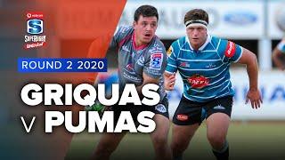 Griquas v Pumas Rd.2 2020 Super rugby unlocked video highlights