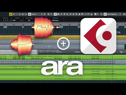Melodyne and Cubase: The ARA Workflow