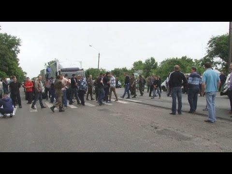 Поблизу Бердичева самооборона на 2 години перекрила трасу - Житомир.info