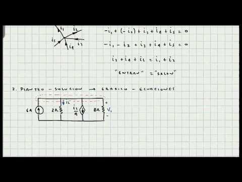 Ejercicio Ley de Corrientes de Kirchoff - Circuitos Eléctricos - Mi Profesor de Fisica - Video 072