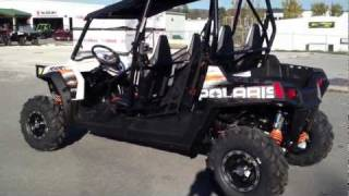 6. 2012 Polaris RZR 4 800 Robbie Gordon EPS Orange Madness LE