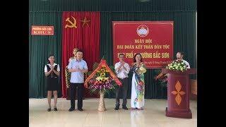 Ngày hội đại đoàn kết toàn dân tại khu 9, phường Bắc Sơn