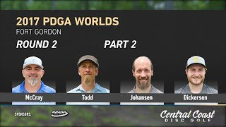 Watch as the MPO Lead card takes on Fort Gordon in the second round of the 2017 PDGA World Championships.http://www.patreon.com/CCDGhttp://centralcoastdg.comhttps://www.instagram.com/centralcoastdiscgolfhttp://www.facebook.com/pages/CentralCoastDiscGolfhttps://twitter.com/CCoastDiscGolfhttps://soundcloud.com/uniquesyntax/rocking-to-brock-unique-syntax-and-atheist-beat-by-brock-berriganhttps://www.facebook.com/therockytropic/http://www.soundcloud.com/therockytropic