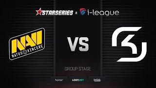 Natus Vincere vs SK, map 1 cobblestone, StarSeries i-League Season 4 Finals