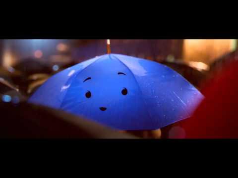 皮克斯動畫-藍色的雨傘和紅色的雨傘….
