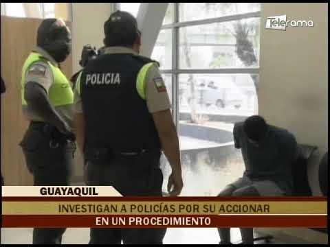 Investigan a policías por su accionar en un procedimiento