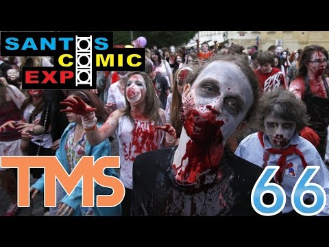 Horda de Zumbis! - Santos Comic Expo 2014 fase 1 - The Mullets Show #66