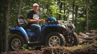 4. Dirt Trax Test Rides Polaris 850 Touring