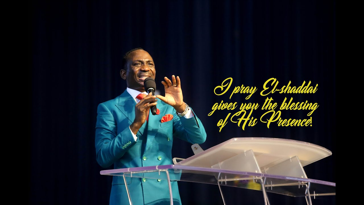The Release of July 2020 Parental Blessing by Pastor Paul Enenche