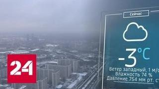 В Москве - снег и слабый мороз