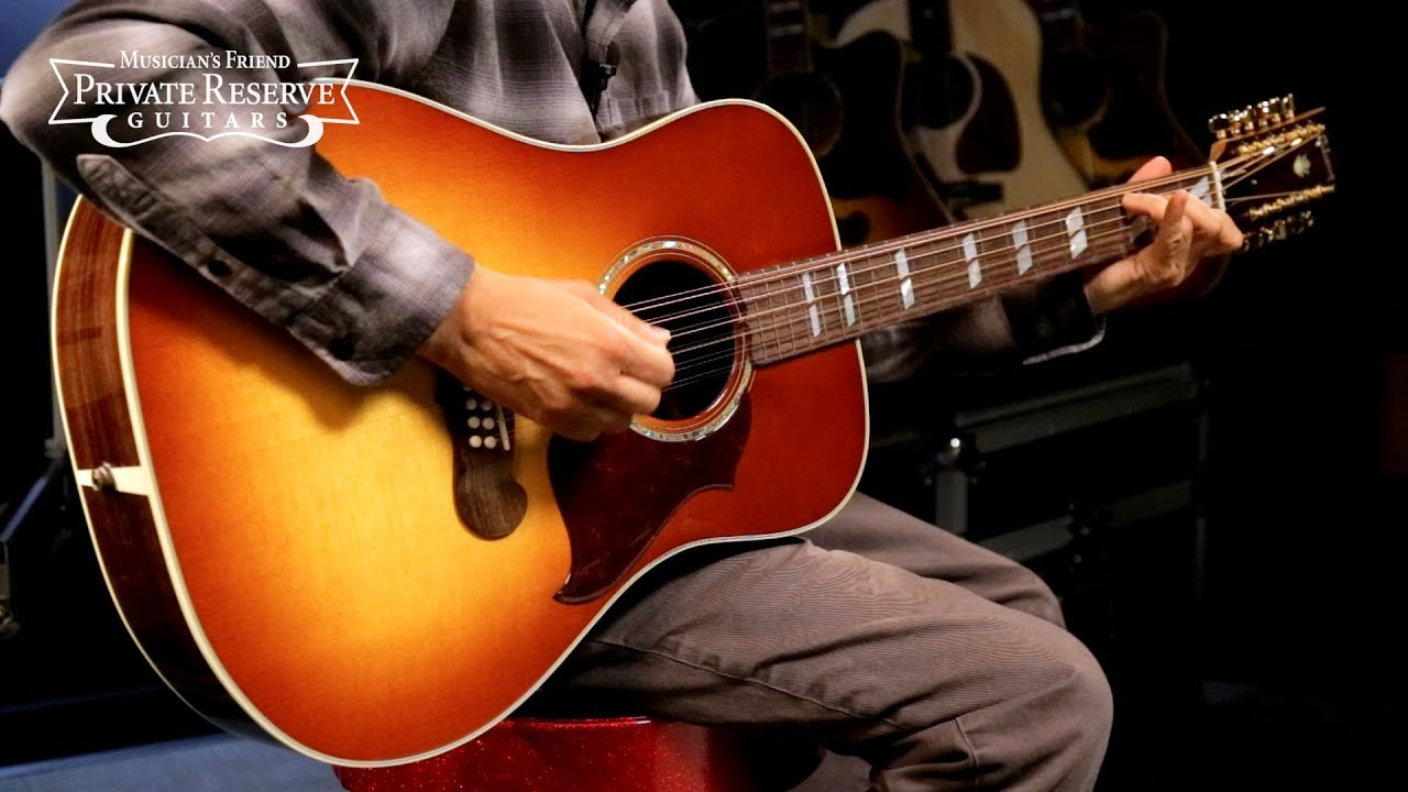 Gibson Limited Run 2019 Songwriter 12-String Acoustic-Electric Guitar