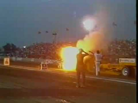 Fire, Crashes, Danger and Tractor Pulling