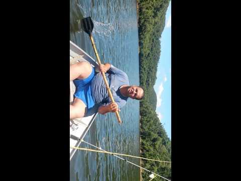 A pesca - Represa Alecrim...os campeões do Remo kk