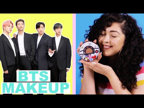 Women Try BTS Boy Band Makeup