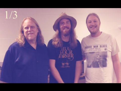 Derek Trucks & Warren Haynes Interview 1/3 The Allman Brothers