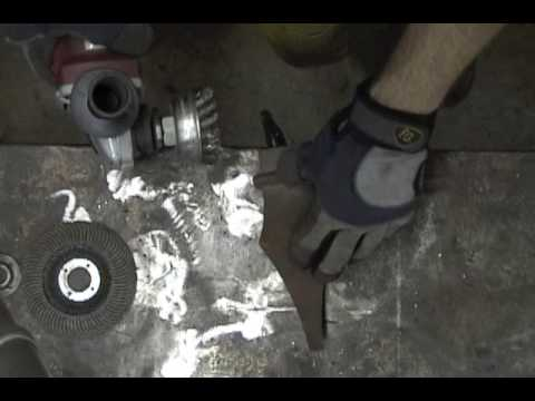 Angle Grinder: How To Remove Rust And Old Paint From Metal