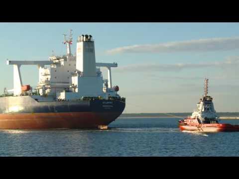 Атлант в Гданьске: крупнейший танкер в истории порта заходит в нефтегавань  - Центр транспортных стратегий