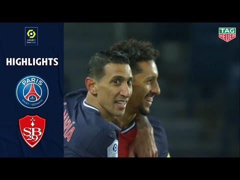 PARIS SAINT-GERMAIN - STADE BRESTOIS 29 (3 - 0) - Highlights - (PSG - SB29) / 2020-2021