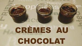 Crèmes au chocolat vite prêtes!