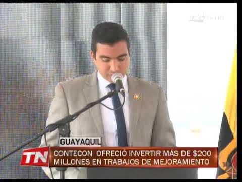 Contecon ofreció invertir más de $200 millones en trabajos de mejoramiento