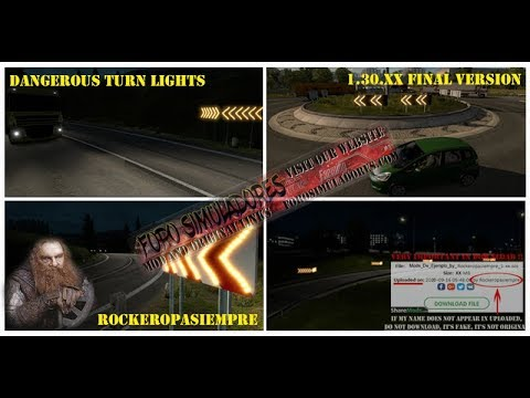 Dangerous Turn Lights 1.30.x Final Version
