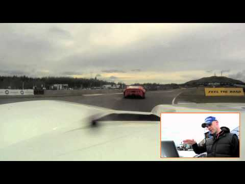 A lap of Knockhill with Marino Franchitti