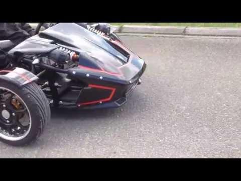 Roadster trike ztr 250 cc www.gcautos.fr (ALSACE - BAS RHIN 67) (видео)