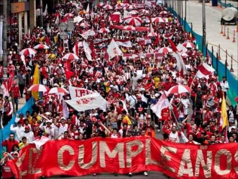 Ya se acerca noche buena - La Guardia Albi Roja Sur - Independiente Santa Fe