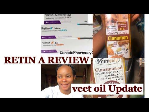 RETIN A FOR ACNE REVIEW| VEET GOLD OIL UPDATE|BBT RECAP| #retinA #veetgoldoil #skincare