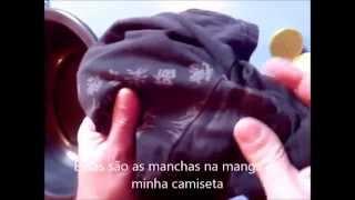 Novo vídeo agora com Etanol bem mais simples acompanha lá: https://www.youtube.com/watch?v=jTVZYMnob9k Uma receita para tirar aquelas manchas de desodorante ...