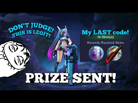 How We Redeem The Layla Blue Spectre Code Giveaway Proofs Mobile Legends Re Upload
