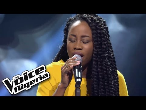 A'rese sings 'Skyfall' / Blind Auditions / The Voice Nigeria 2016