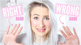 Video RIGHT vs WRONG Handed Makeup | Sophie Louise MP3, 3GP, MP4, WEBM, AVI, FLV Januari 2018