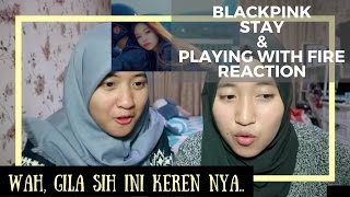 Video BLACKPINK - Stay & Playing with Fire // MV Reaction (Indonesia) MP3, 3GP, MP4, WEBM, AVI, FLV September 2017