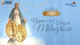 Novena a la Virgen Milagrosa - dia 1
