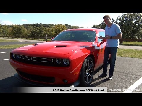 Review: 2016 Dodge Challenger R/T Scat Pack (видео)