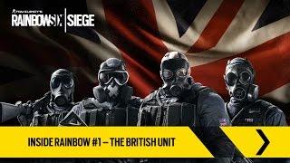 Inside Rainbow #1 - Le unità britanniche