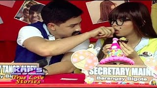 """Eat Bulaga April 5 2017 LOOK: Alden surprised Maine with a HOKAGE KISS in the Barangay Please don't forget to """"SUBSCRIBE""""..."""