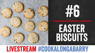 Easter Biscuits - Livestream 6 #cookalongabarry by  My Virgin Kitchen