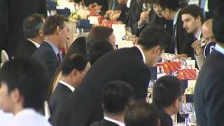 Cameron in China
